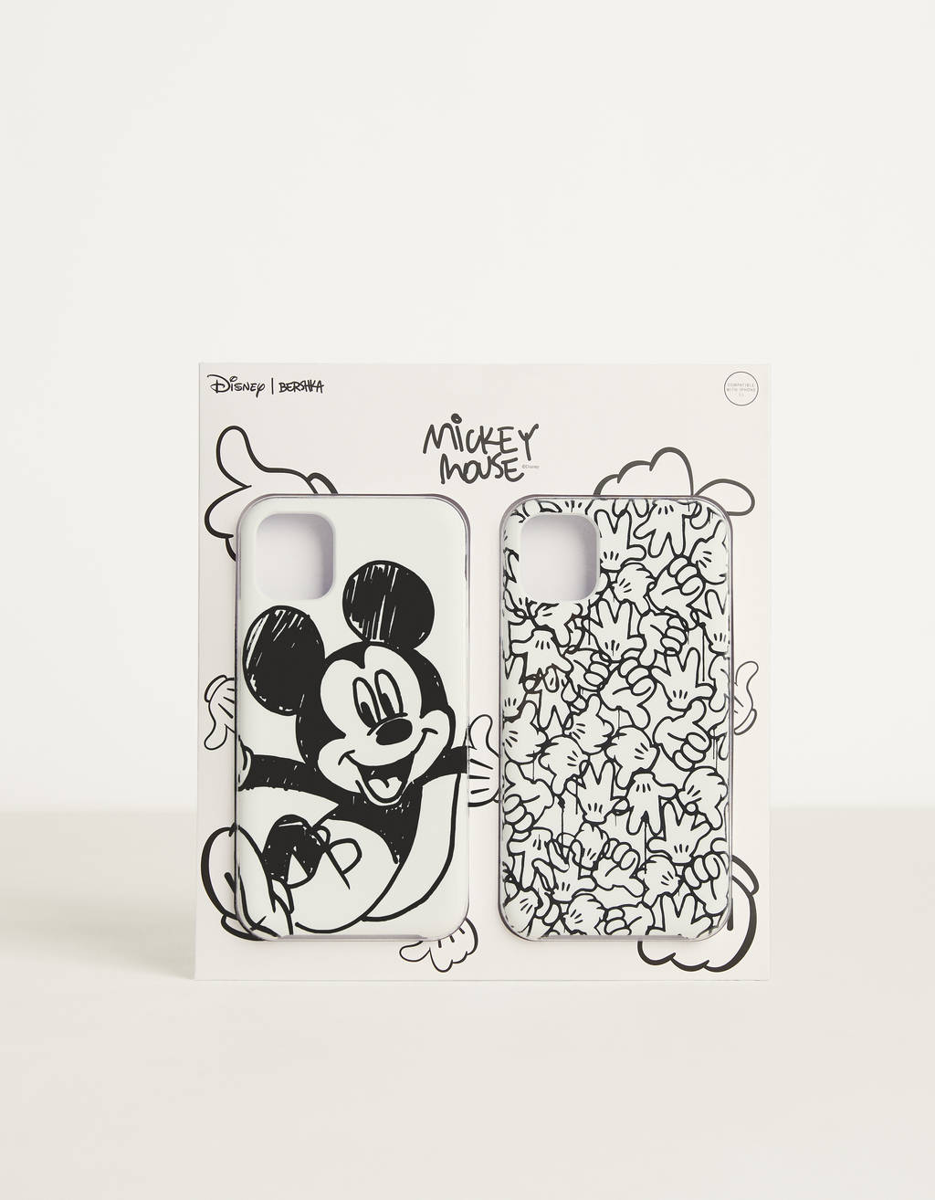 "Hoesje voor iPhone 11 ""Mickey gets arty"""