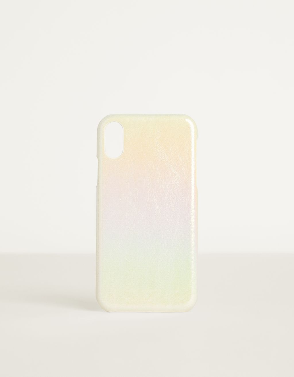 Iridescent iPhone XR case