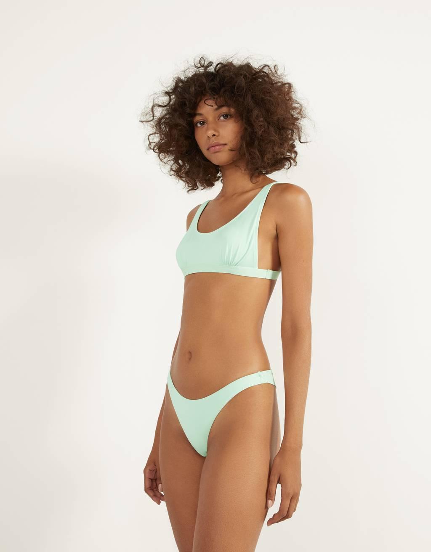Braguita de bikini monocolor