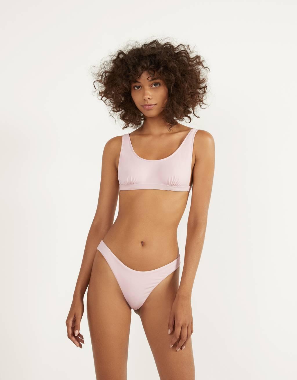 Braguiña de bikini monocolor