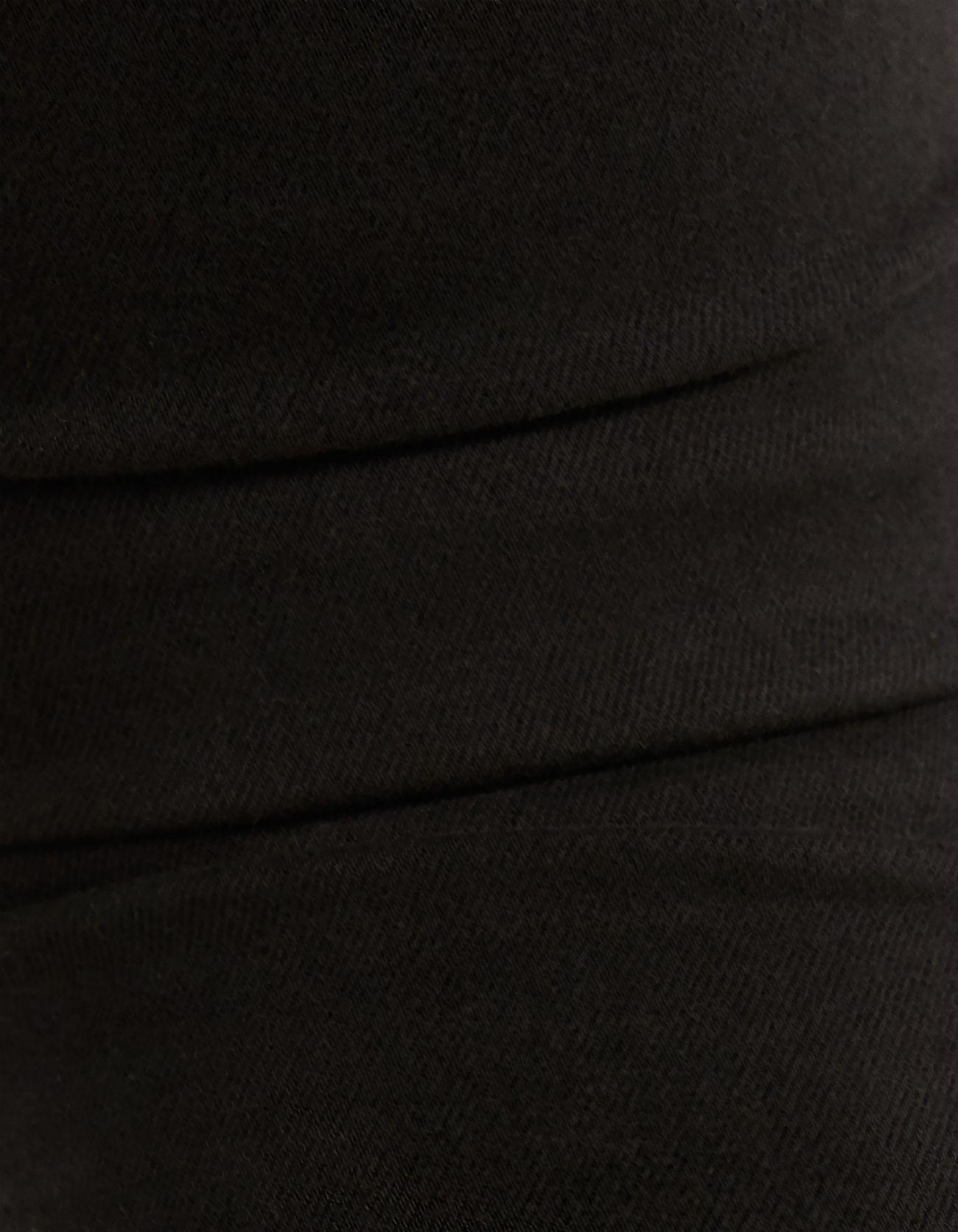 Брюки с эффектом пуш-ап и 5 карманами Черный Bershka