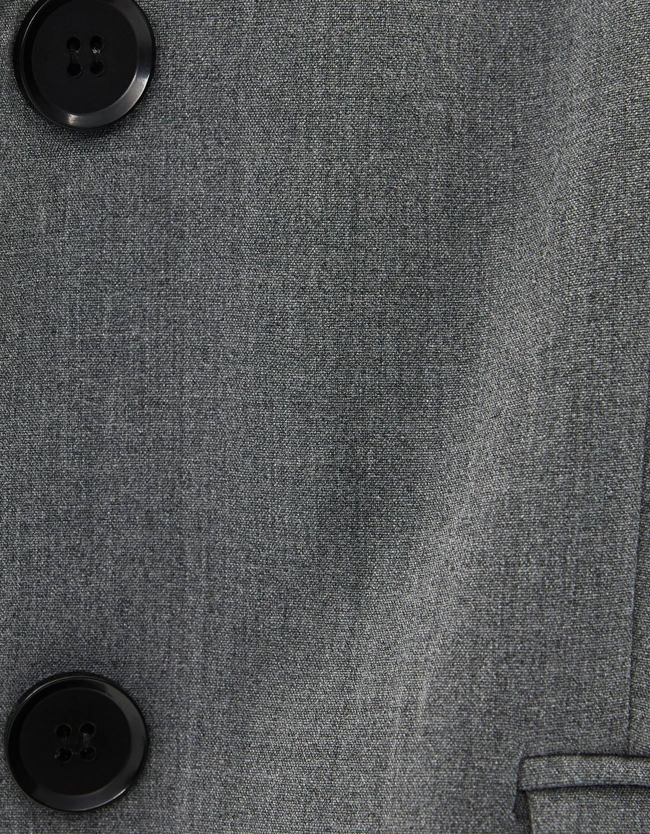 Блейзер из струящейся ткани Серый Bershka