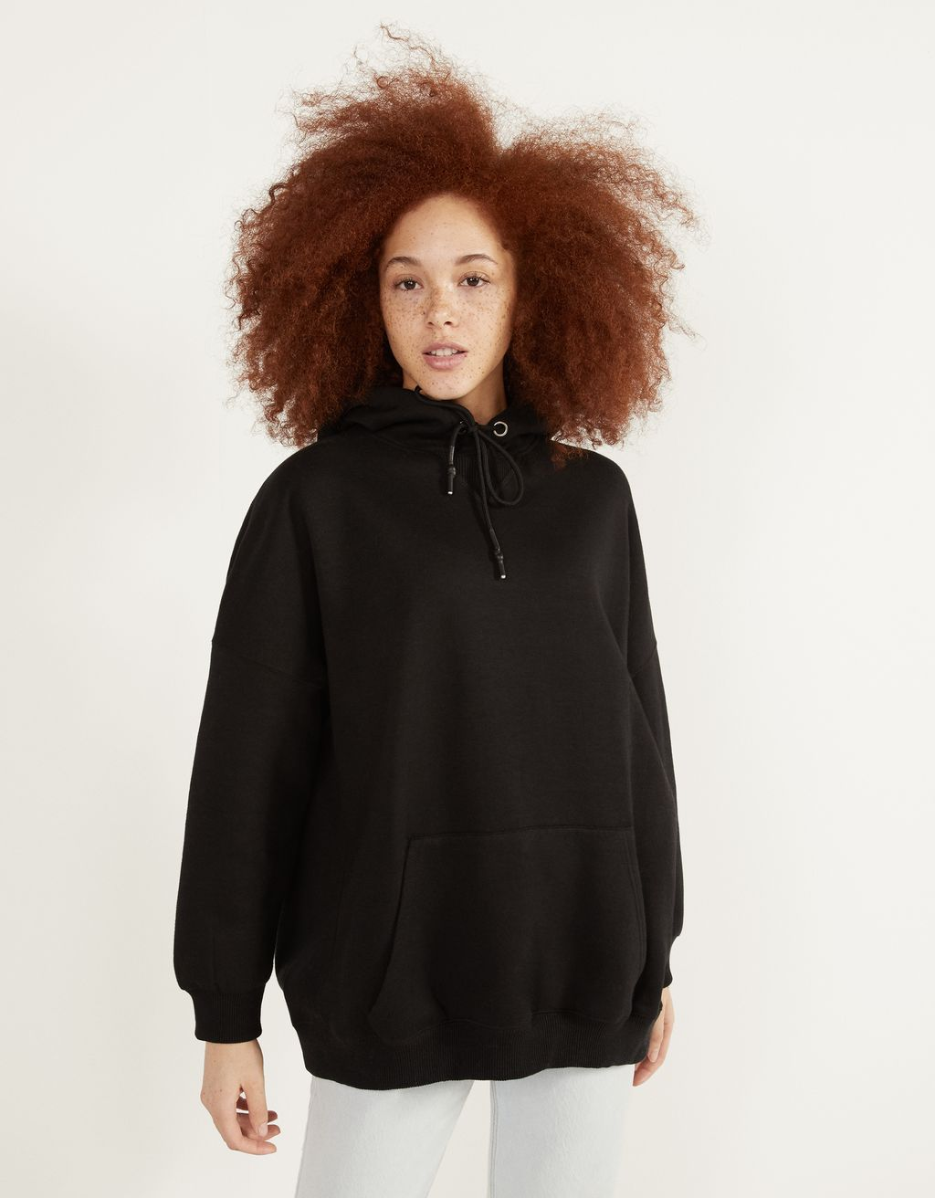 Sweat oversize à capuche