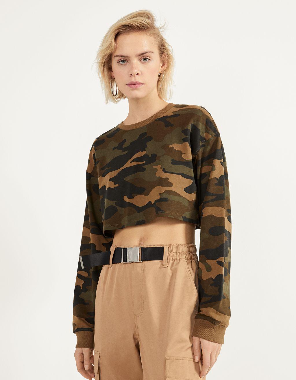 Crop-Sweatshirt