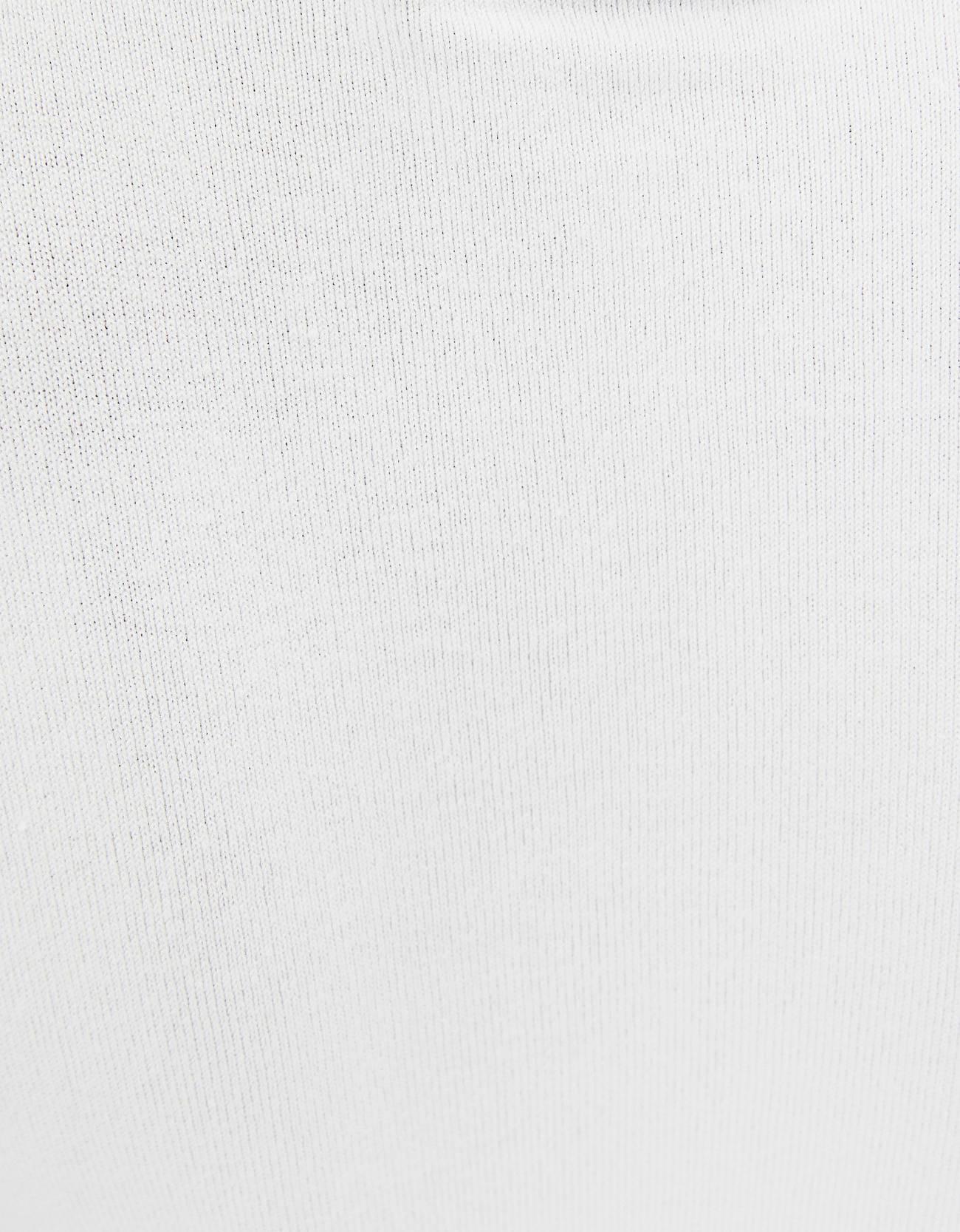 Свитер с короткими рукавами Белый Bershka