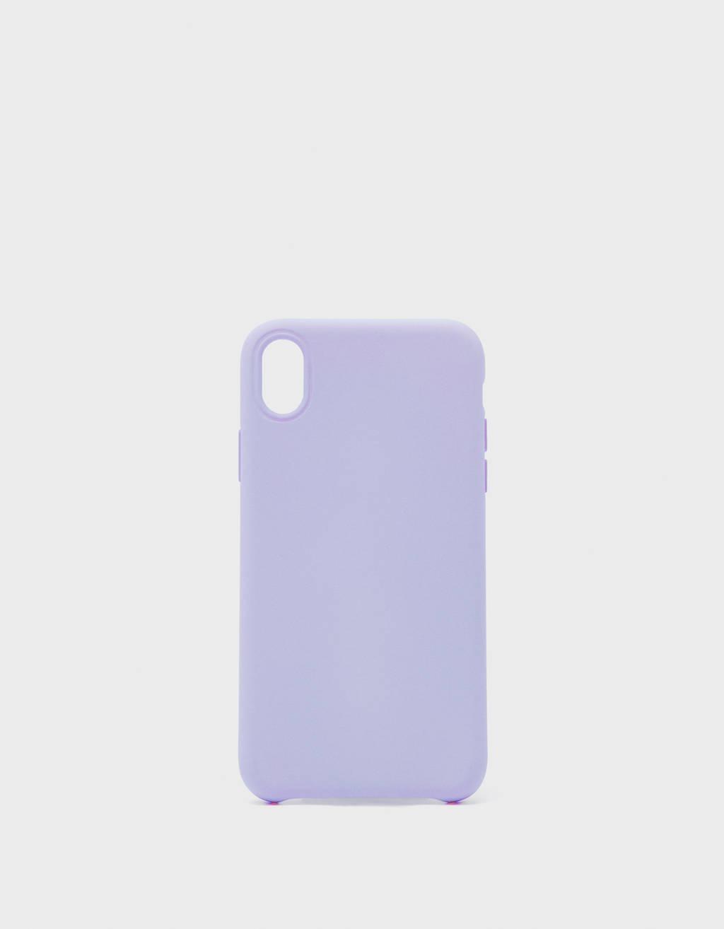Tek renk iPhone XR kılıfı