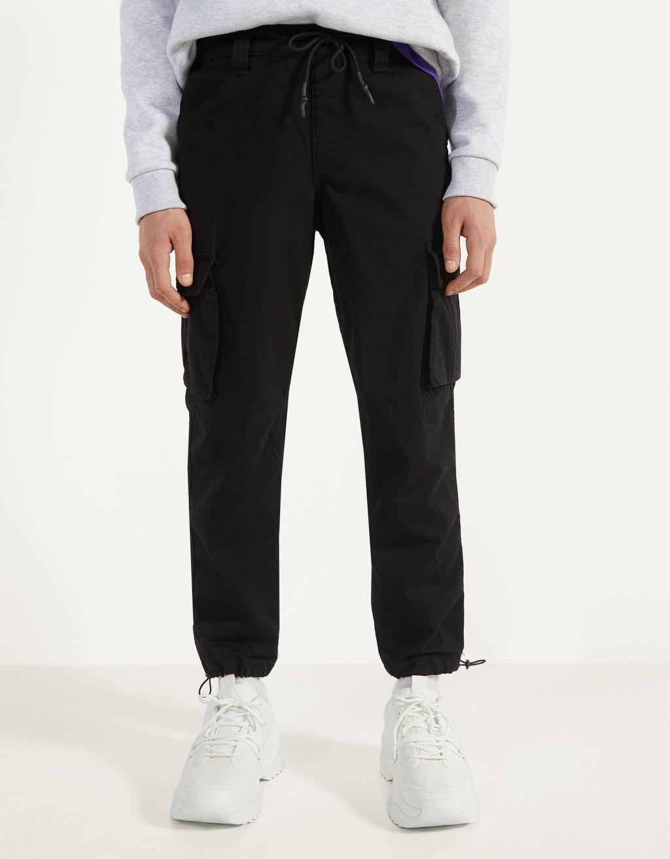 Pantaloni jogger cargo