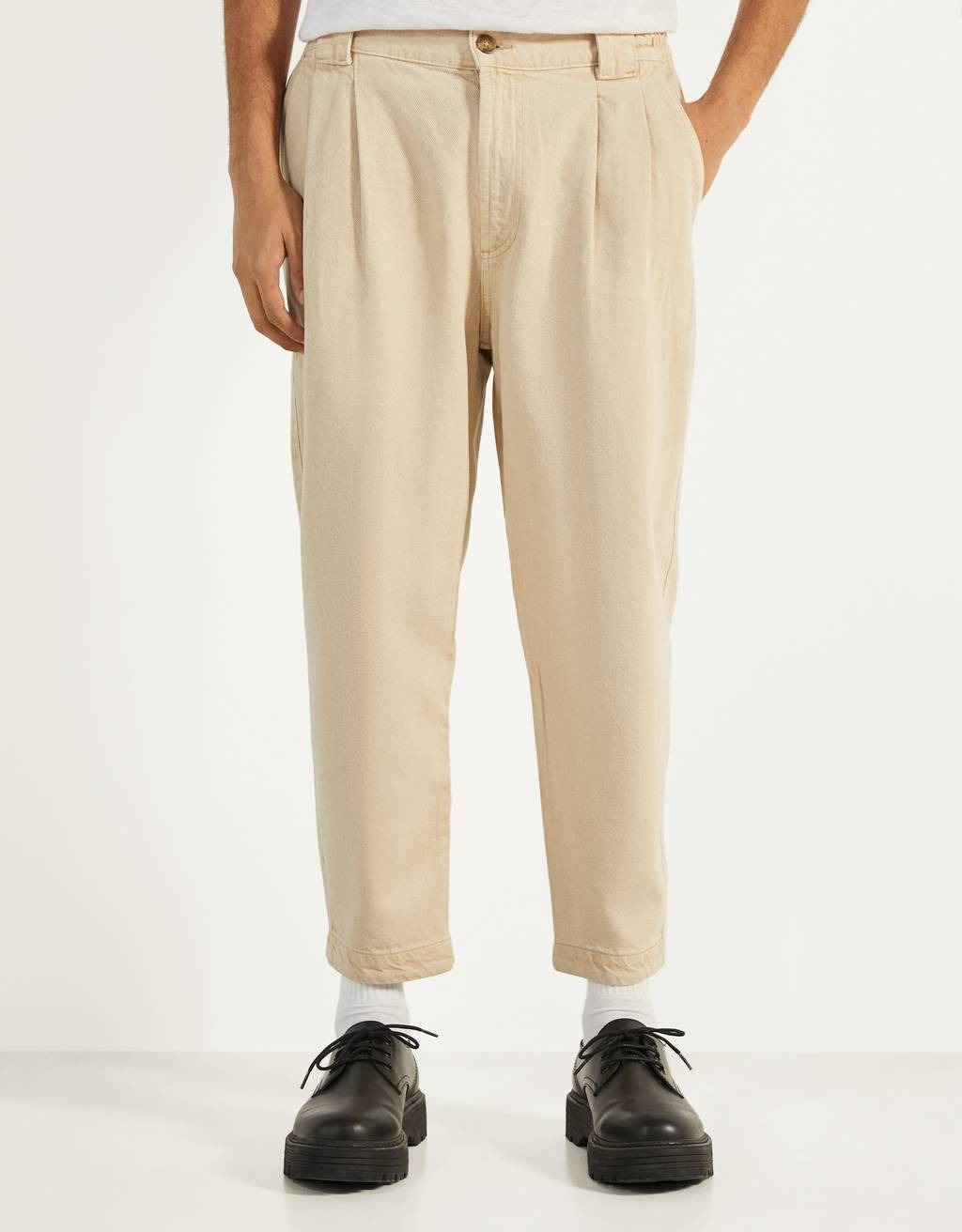 Pantalon coupe ballon