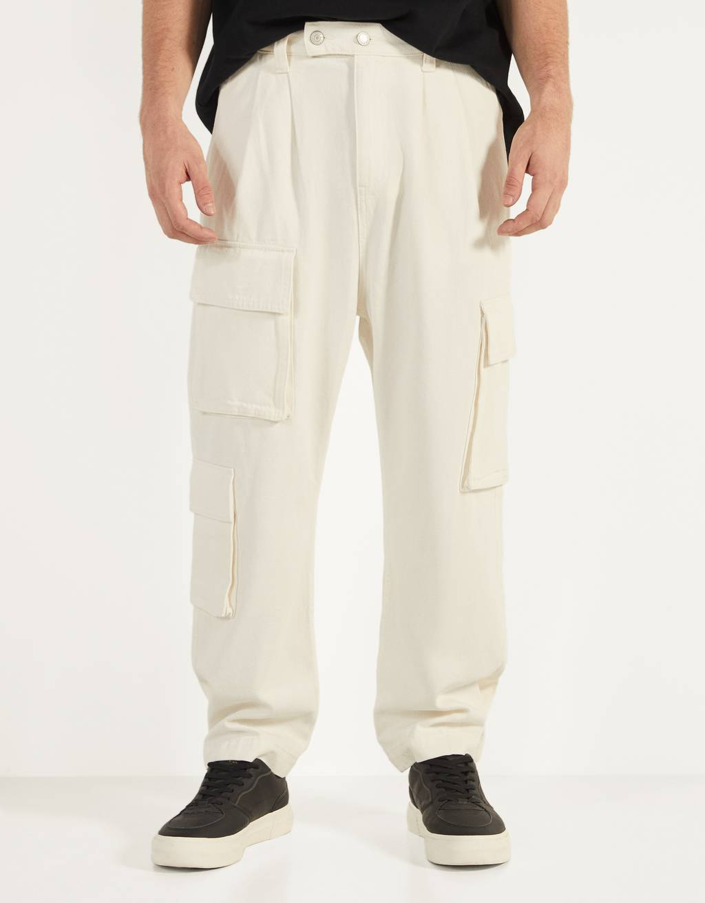 Pantalon cargo coupe ballon