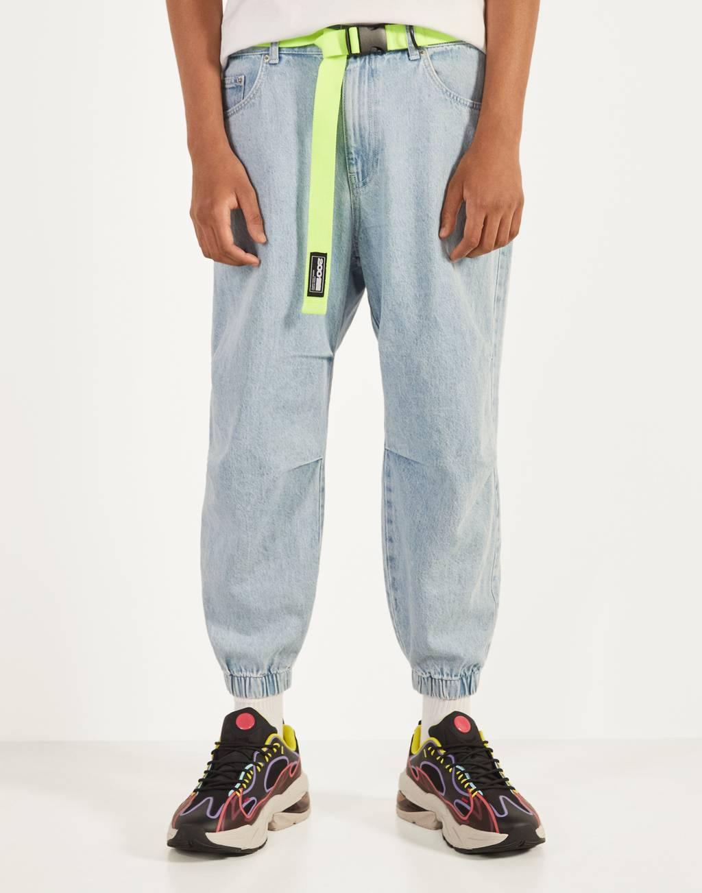 Balloon fit jogger jeans