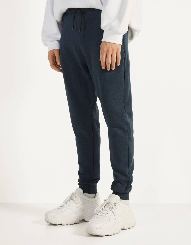 Pantalon jogger en molleton