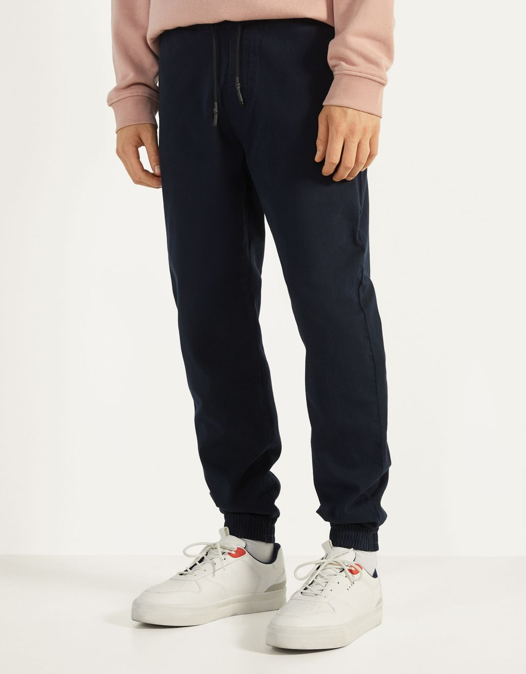 Slim fit joggingbukser