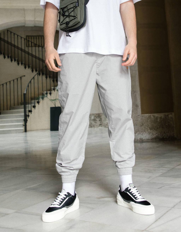 Jogging hlače iz poplina