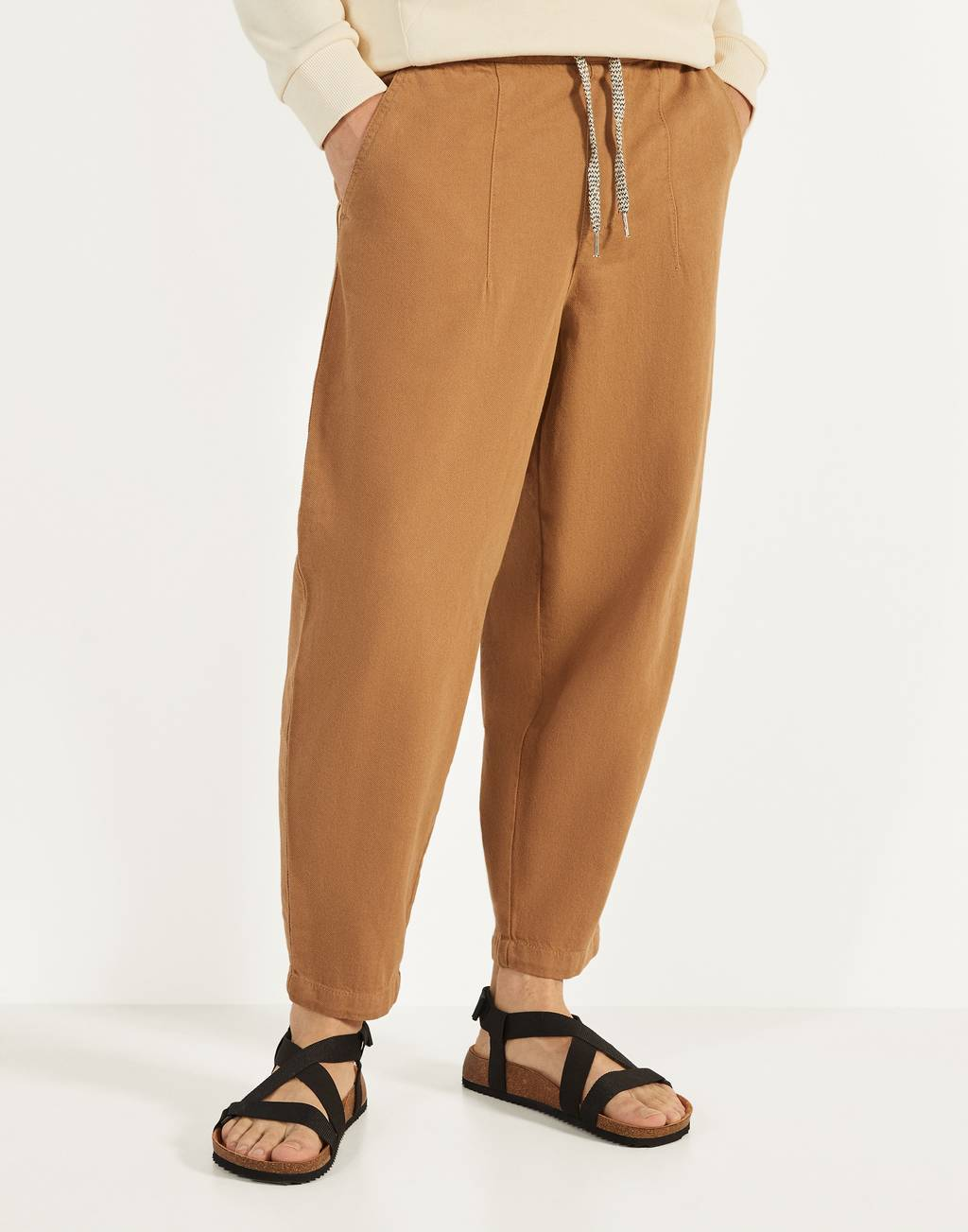 Pantalon jogger coupe ballon