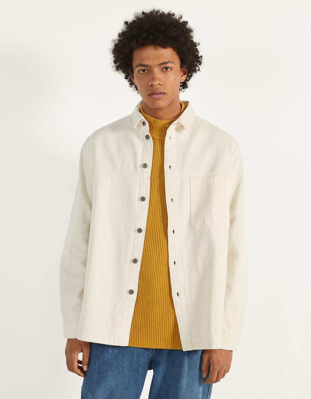 Sobrecamisa de algodón