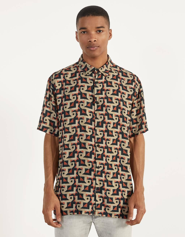 Camisa amb estampat
