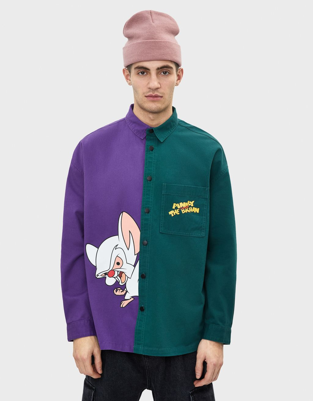 Jachetă overshirt Pinky & The brain