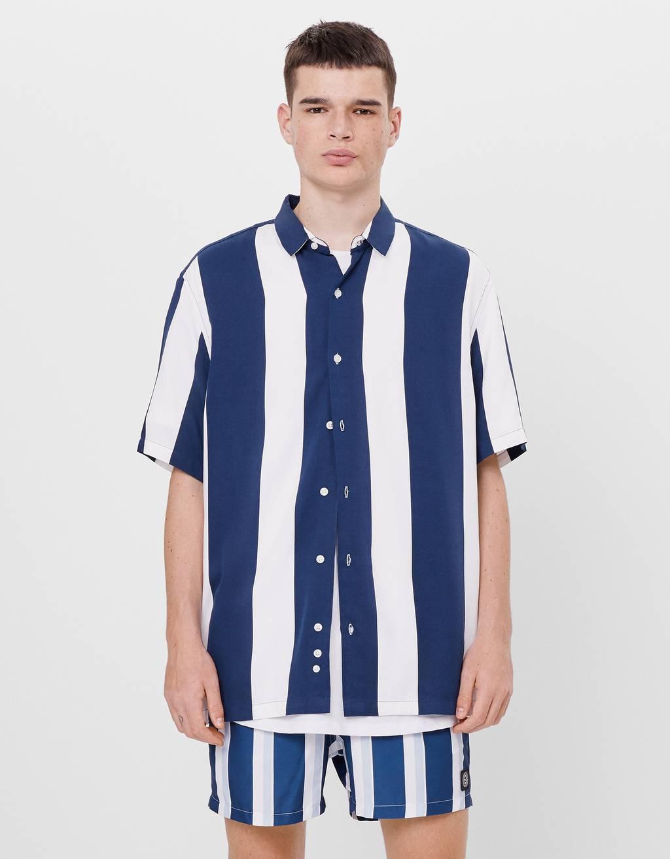 Рубашка с принтом