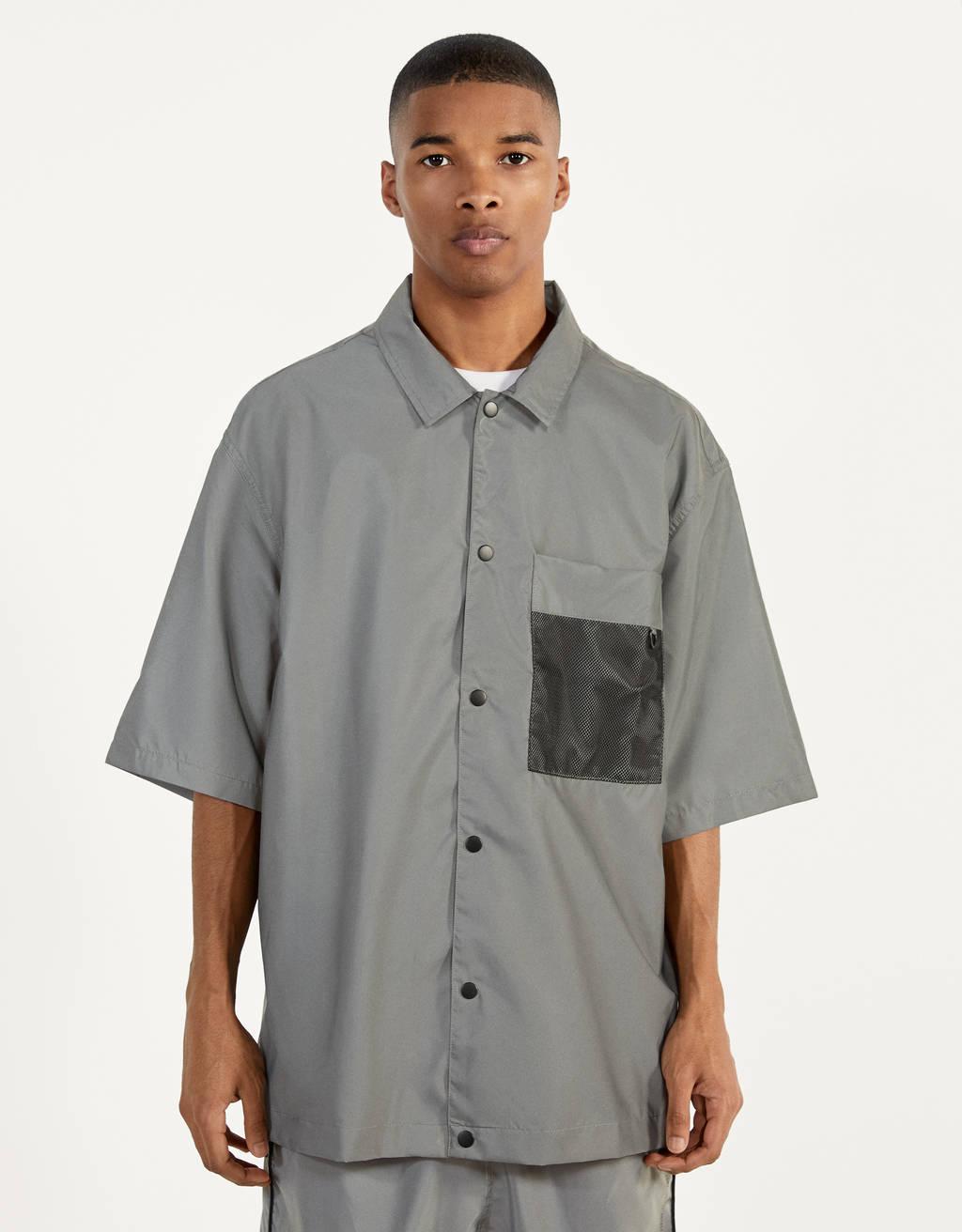Рубашка со светоотражающими деталями