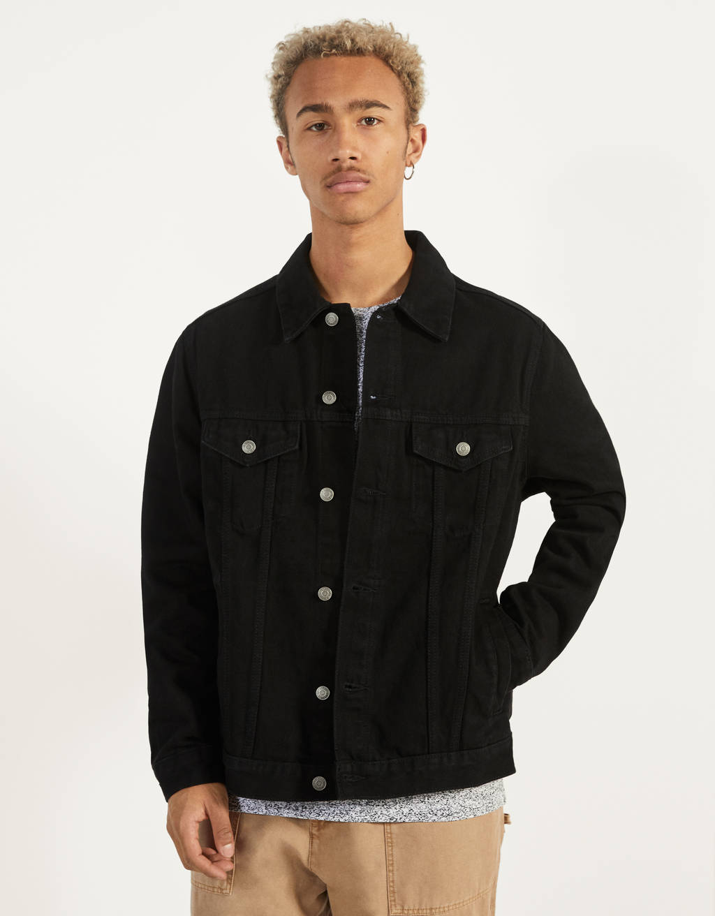 Veste en jean regular fit