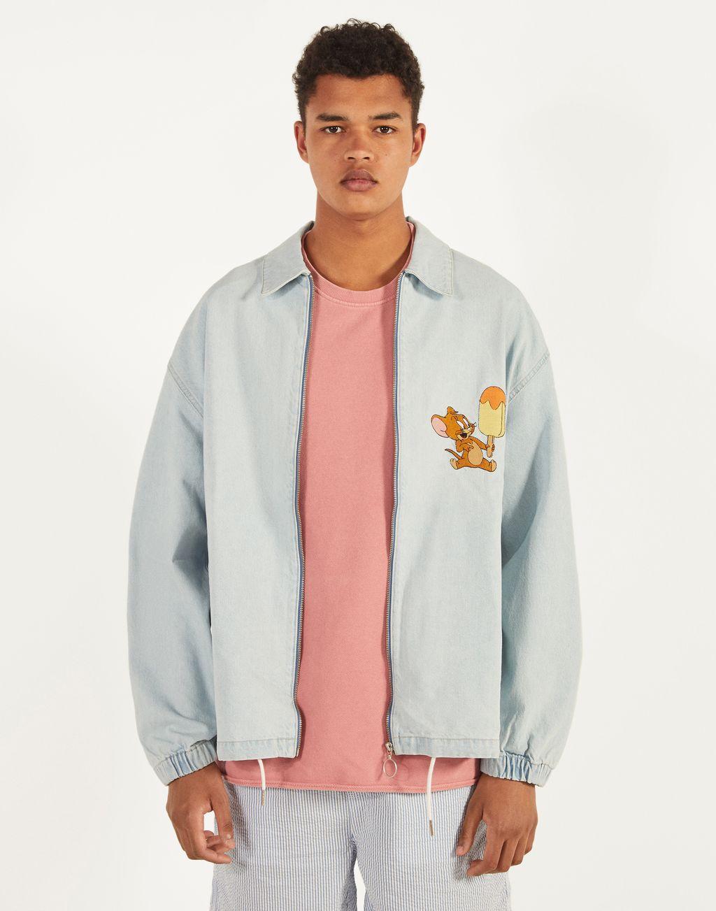 Tom & Jerry denim jacket