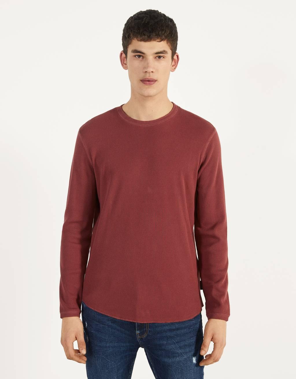 Jersey con cuello redondo