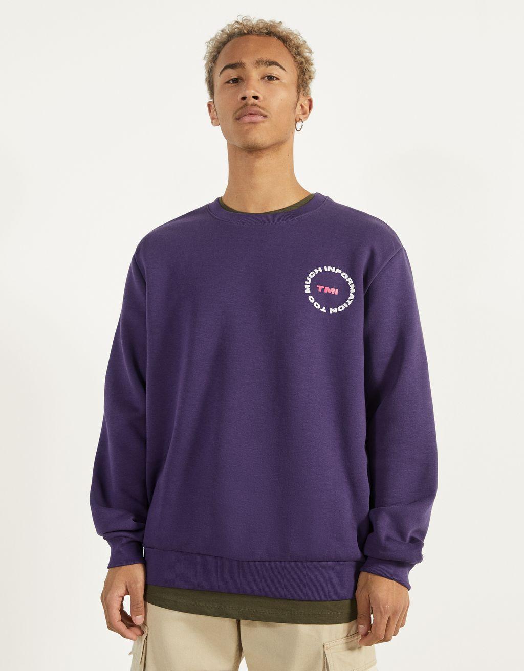Raštuotas džemperis