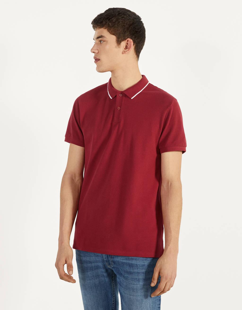 Kortærmet poloskjorte