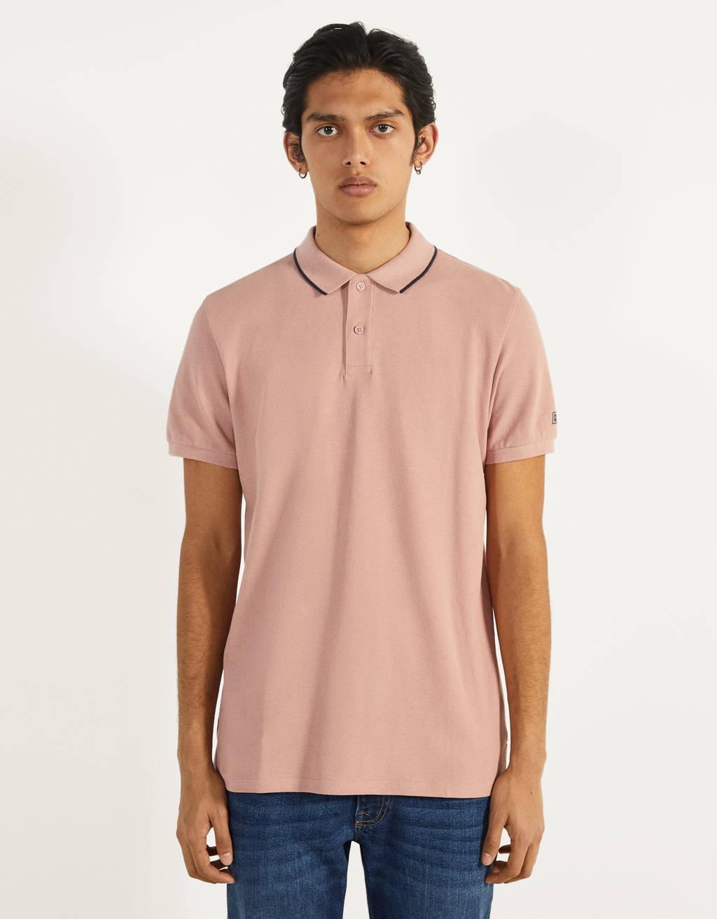 Polo krekls ar īsām piedurknēm