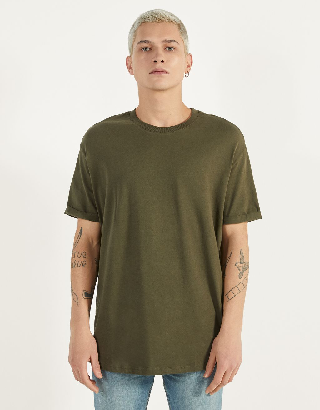 Long short sleeve T-shirt