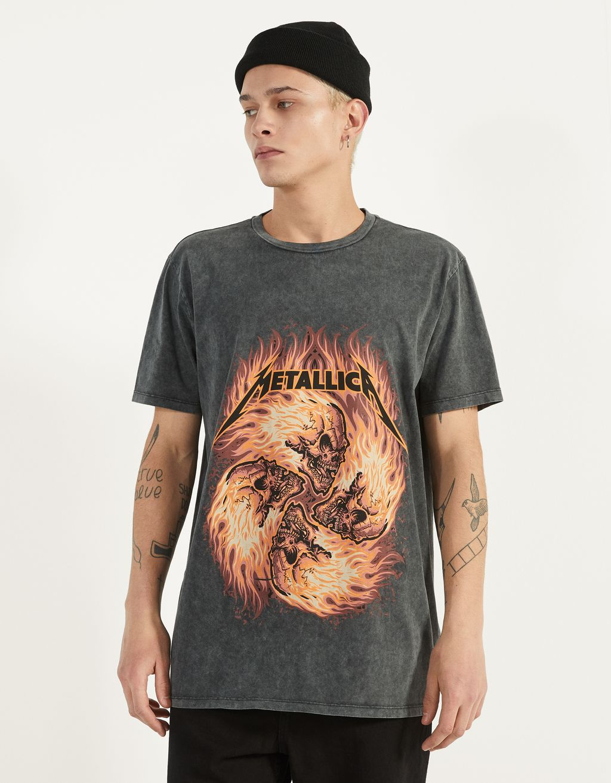Marškinėliai Metallica