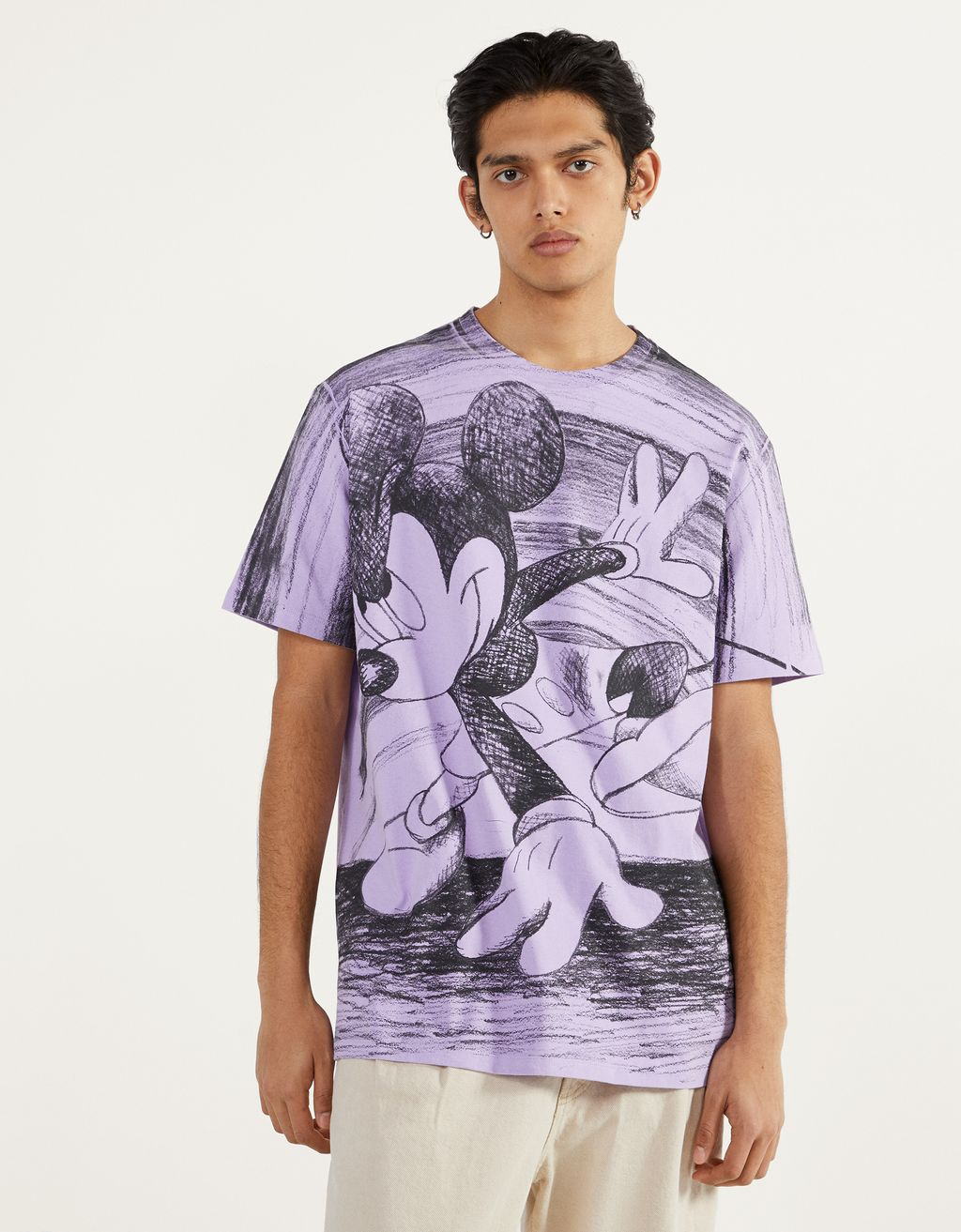 """Mickey gets arty"" T-shirt"