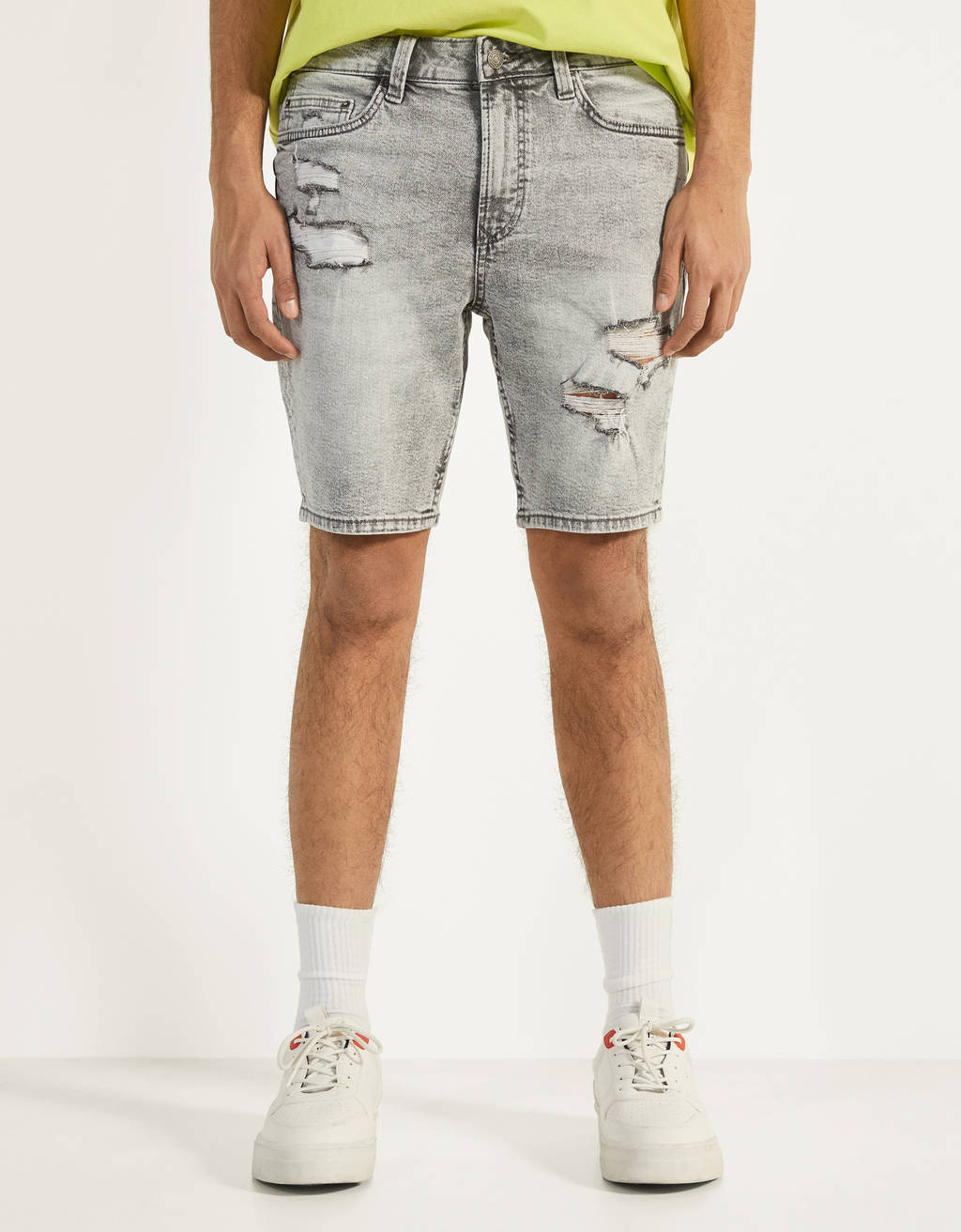 Bermuda denim Skinny Fit