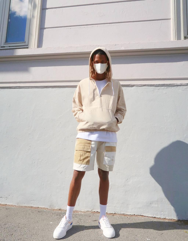 Utility bermuda hlače