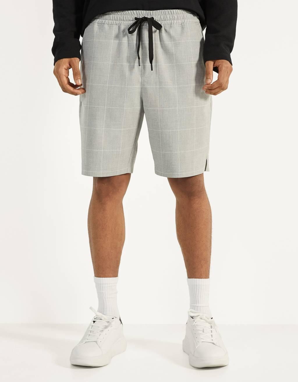 Bermuda jogging shorts
