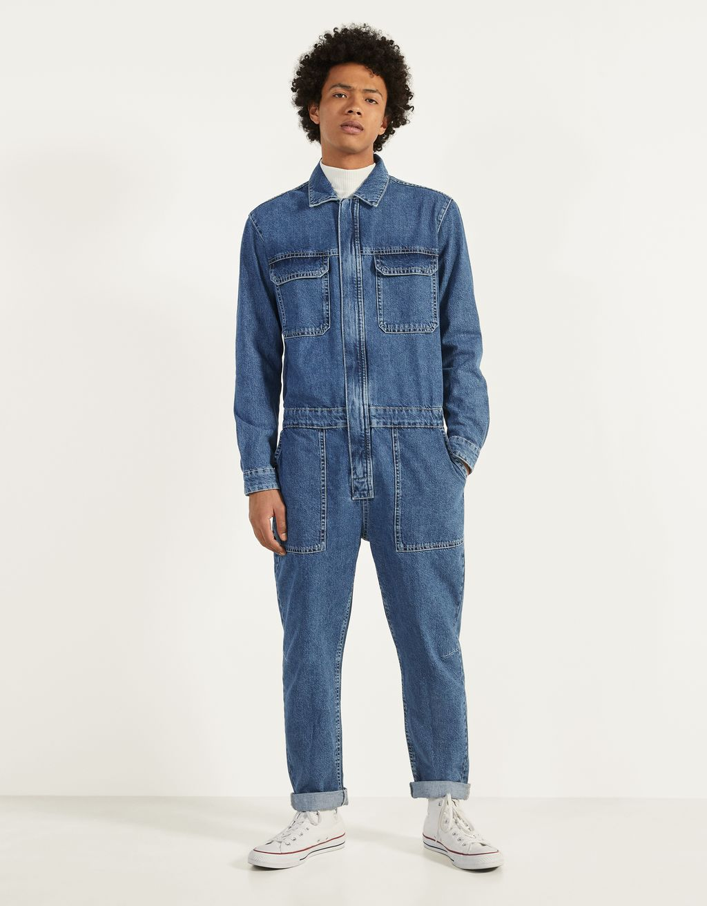 Mono largo denim
