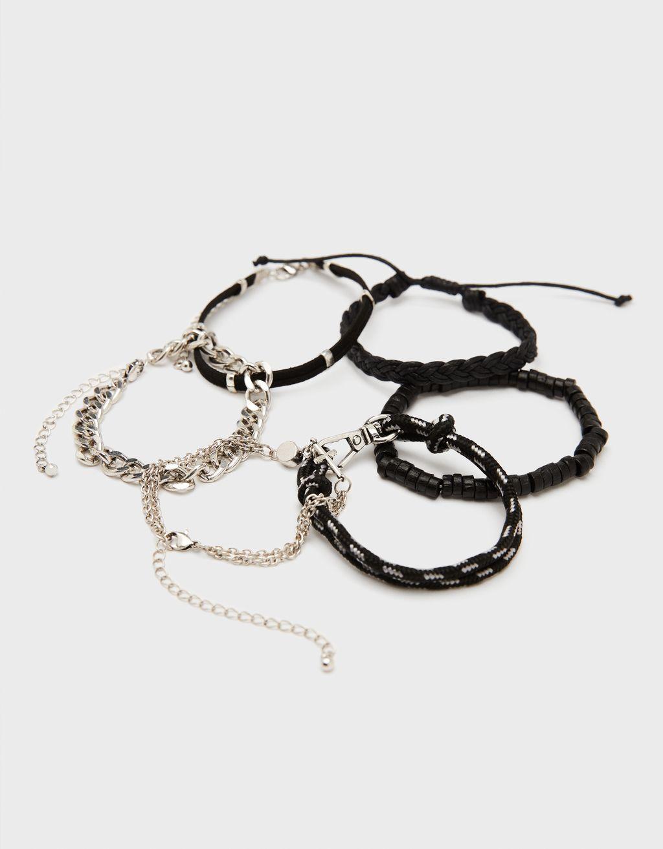 Set of bracelets with cross
