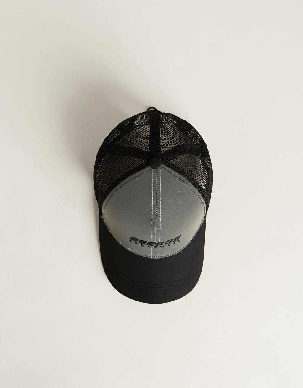 Reflective cap with graphic design