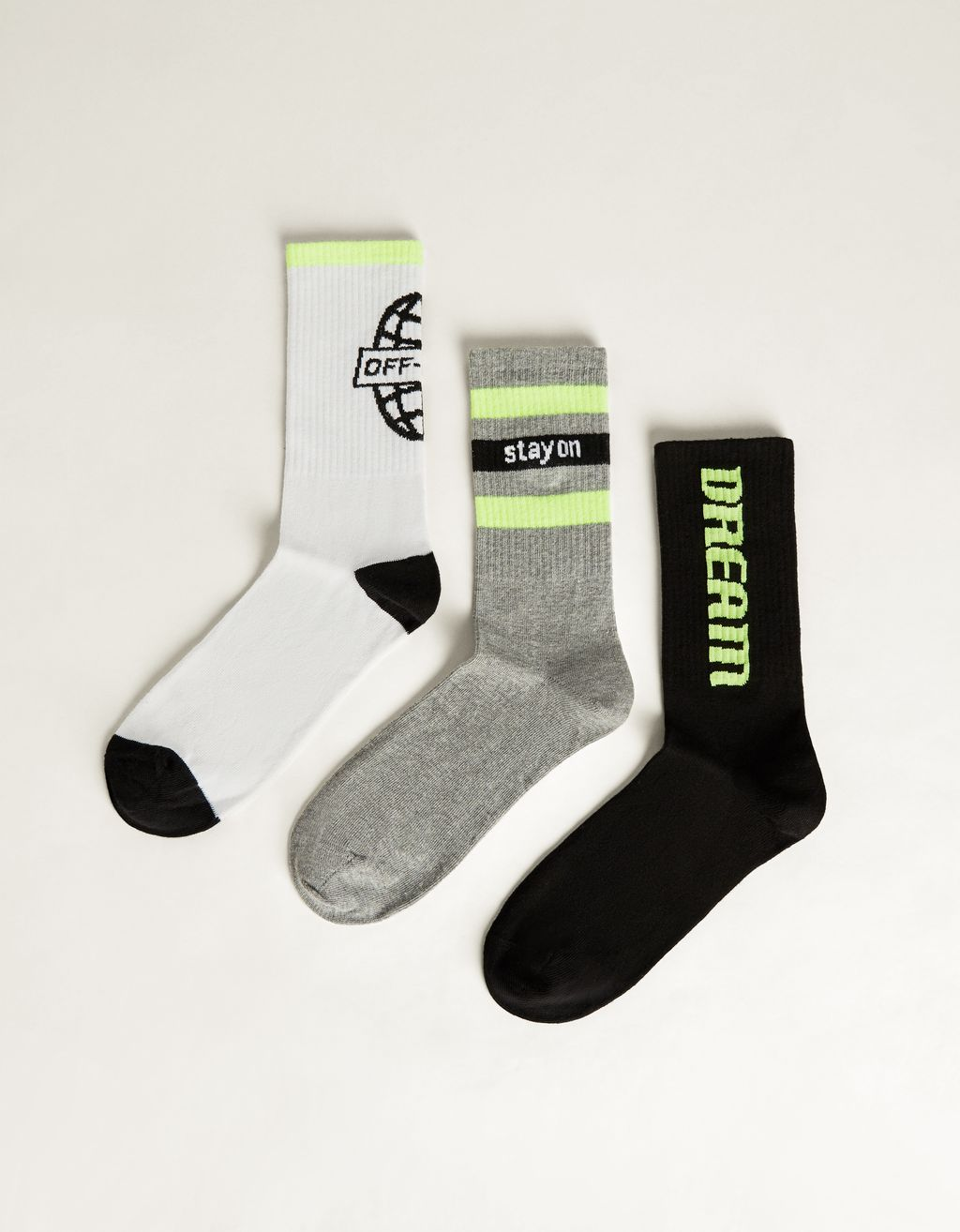 Pack of neon socks