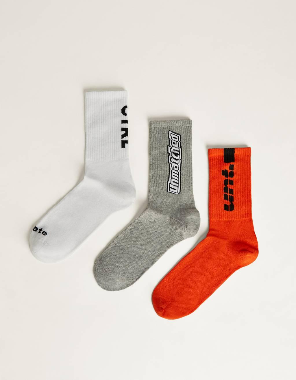 Pack of printed socks