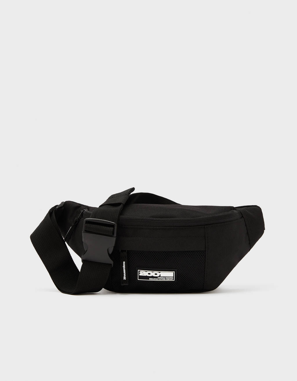 Belt bag with slogan