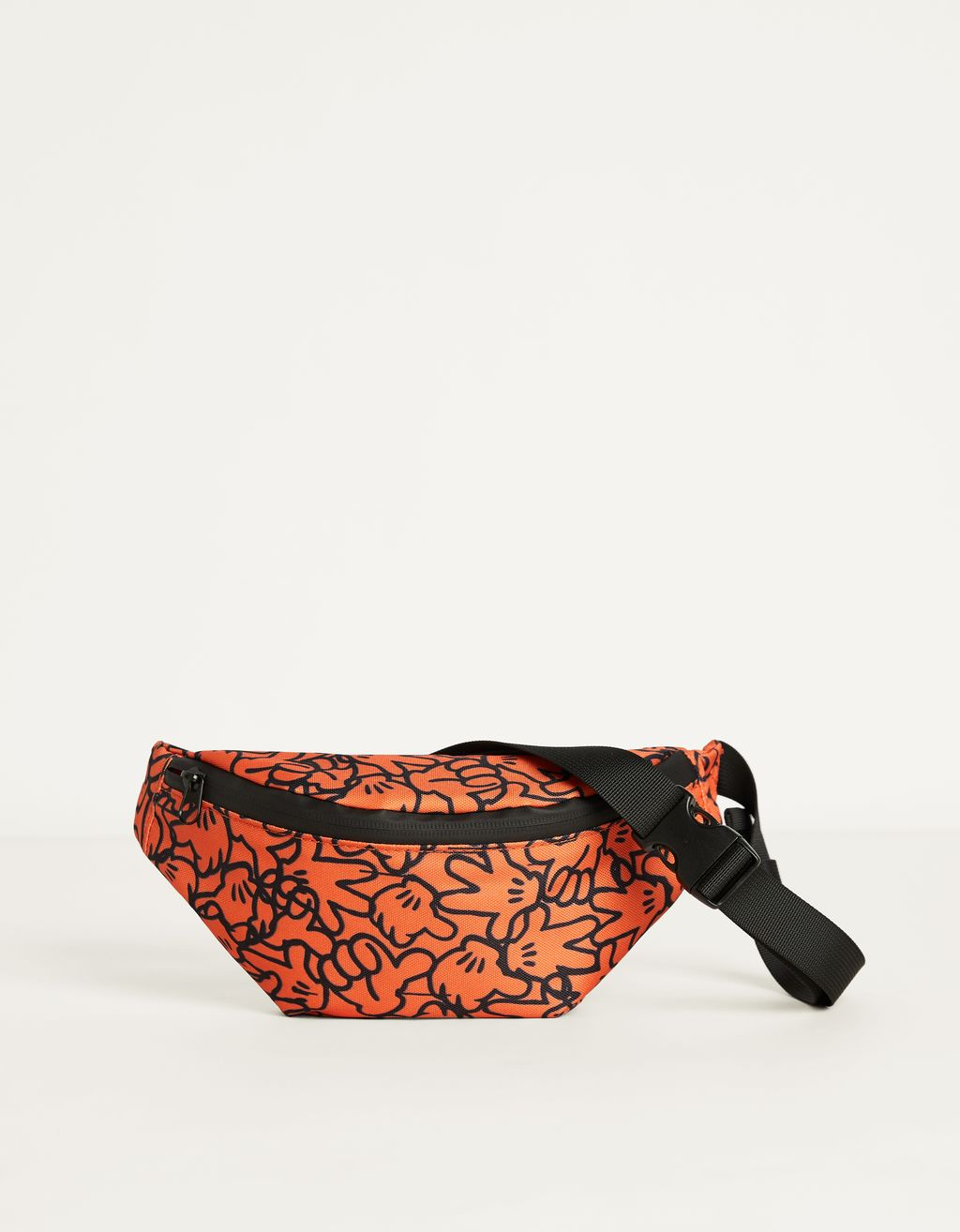 """Mickey gets arty"" belt bag"