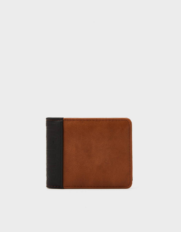 Contrast purse