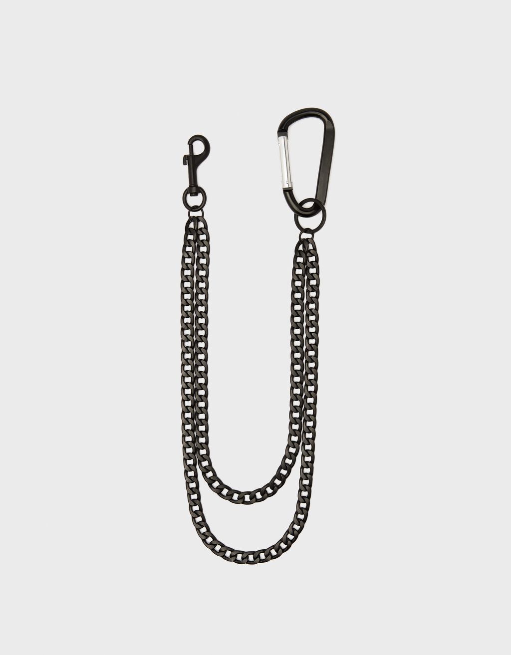 Chain keyring with lobster clasp