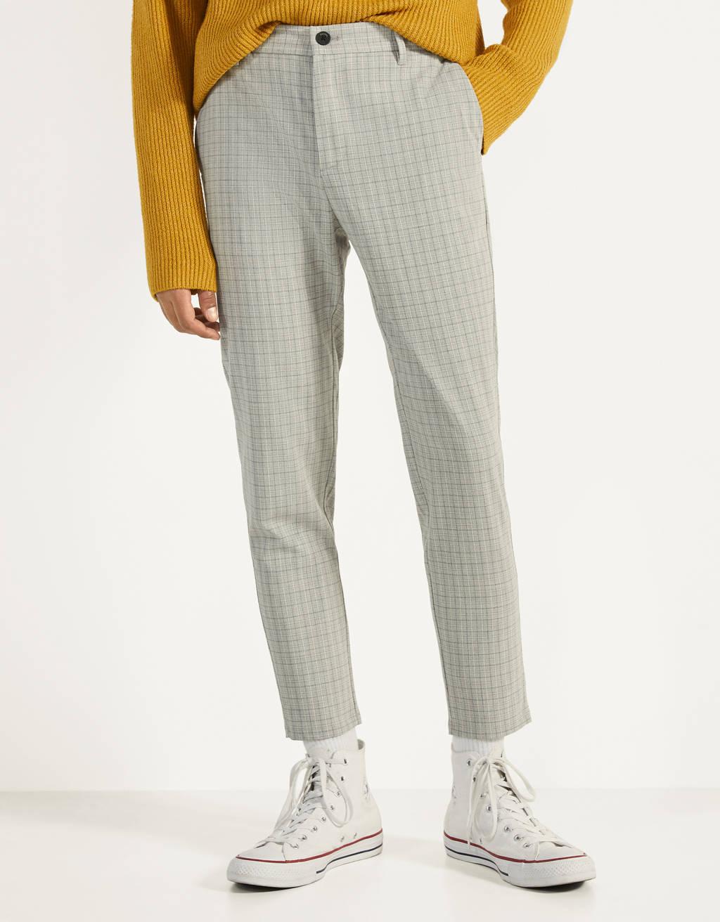 Pantalón tailoring de cuadros