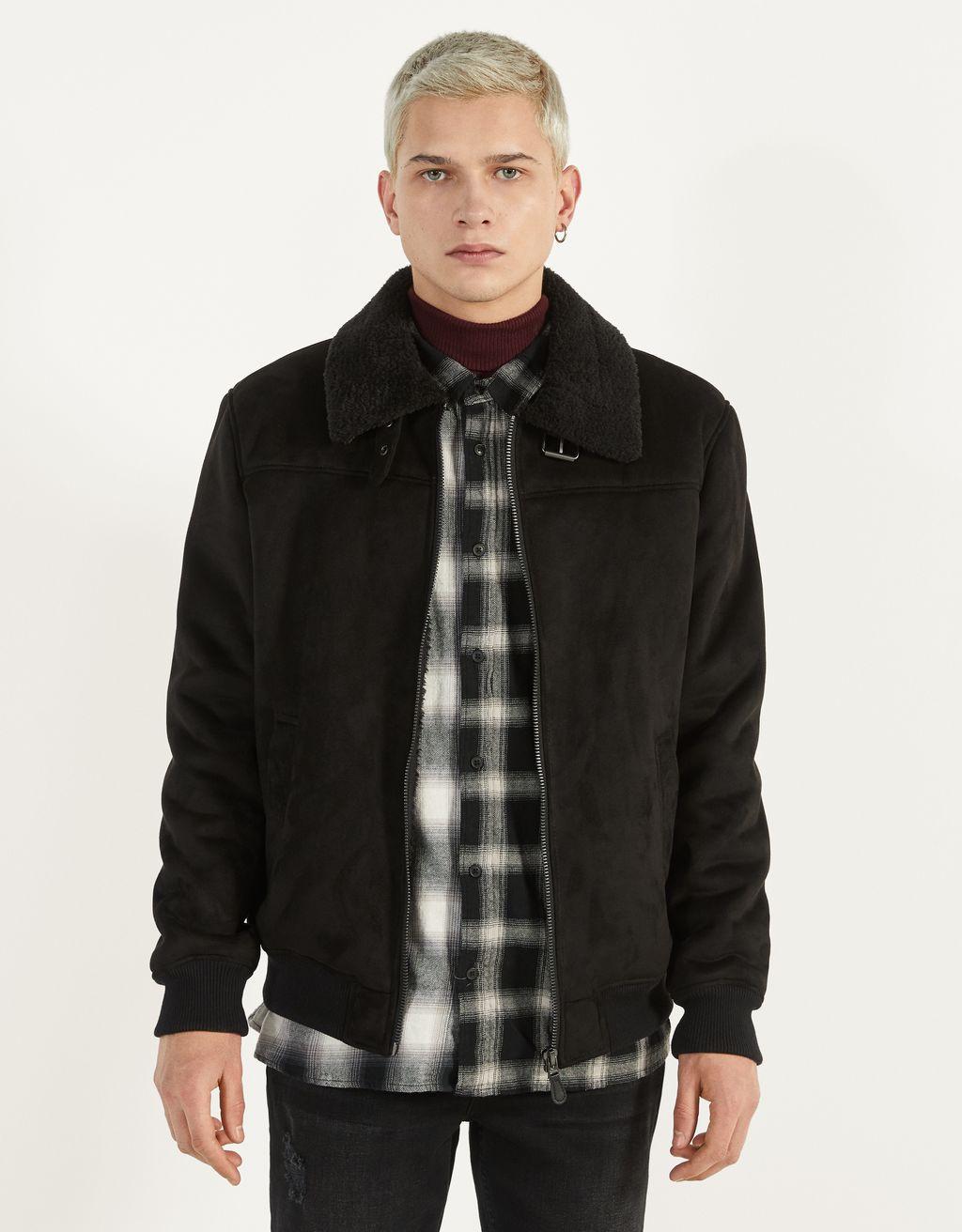 Double-sided bomber jacket