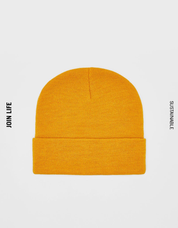 モノクロビーニー帽
