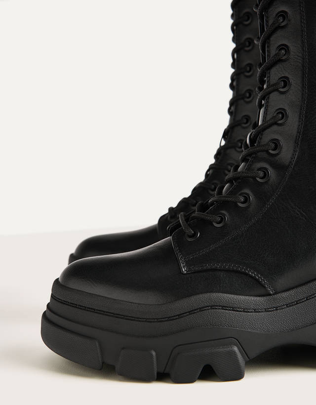 track soles - Shoes - Bershka Honduras