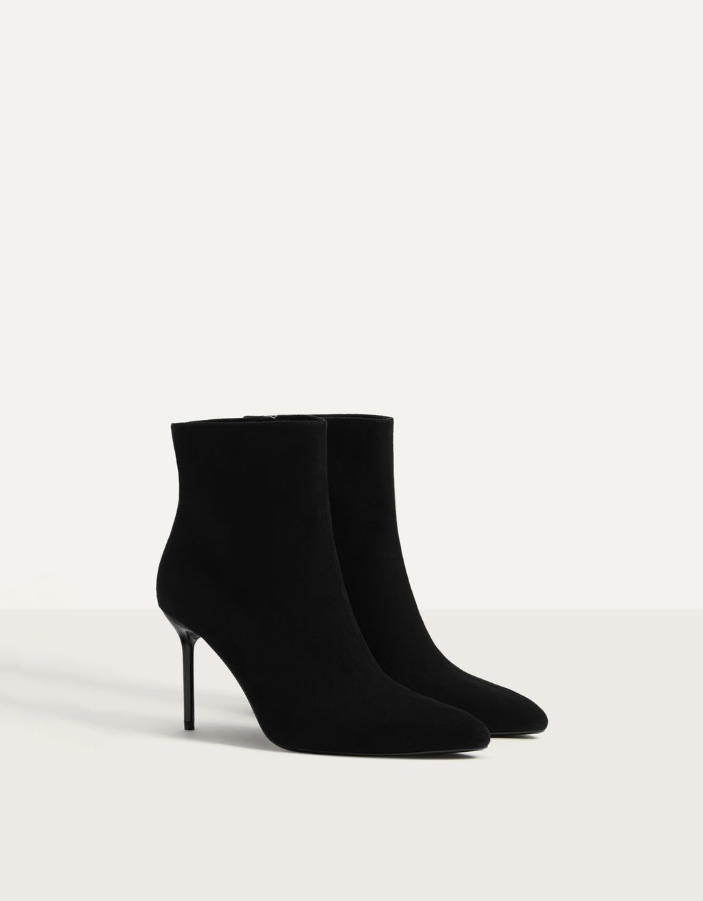 Stiletto-heel ankle boots