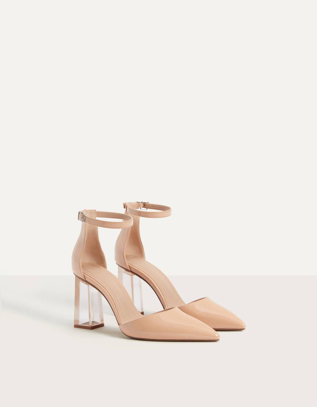 Methacrylate high heel shoes